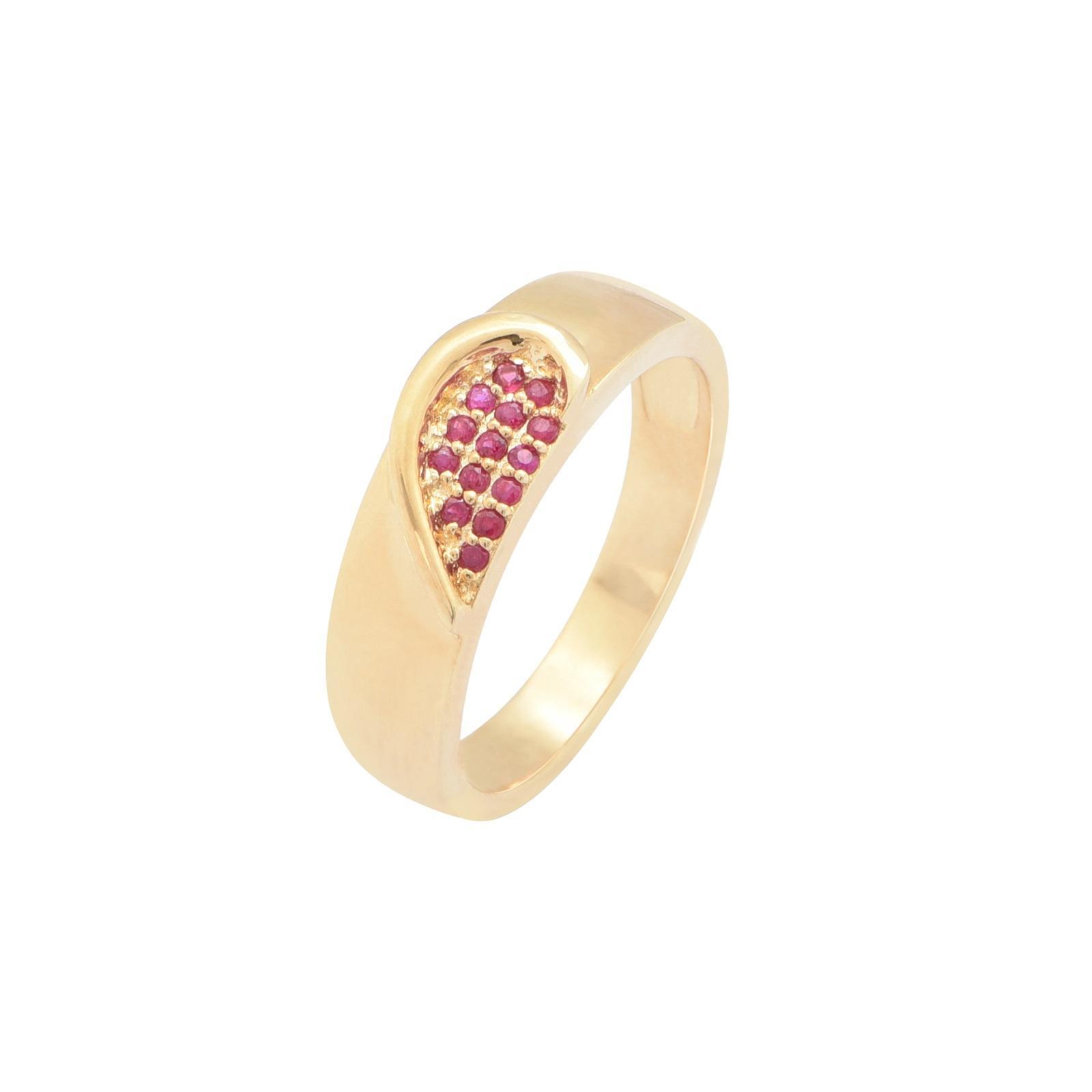 Nhẫn cưới nam Ruby KR0013.C111