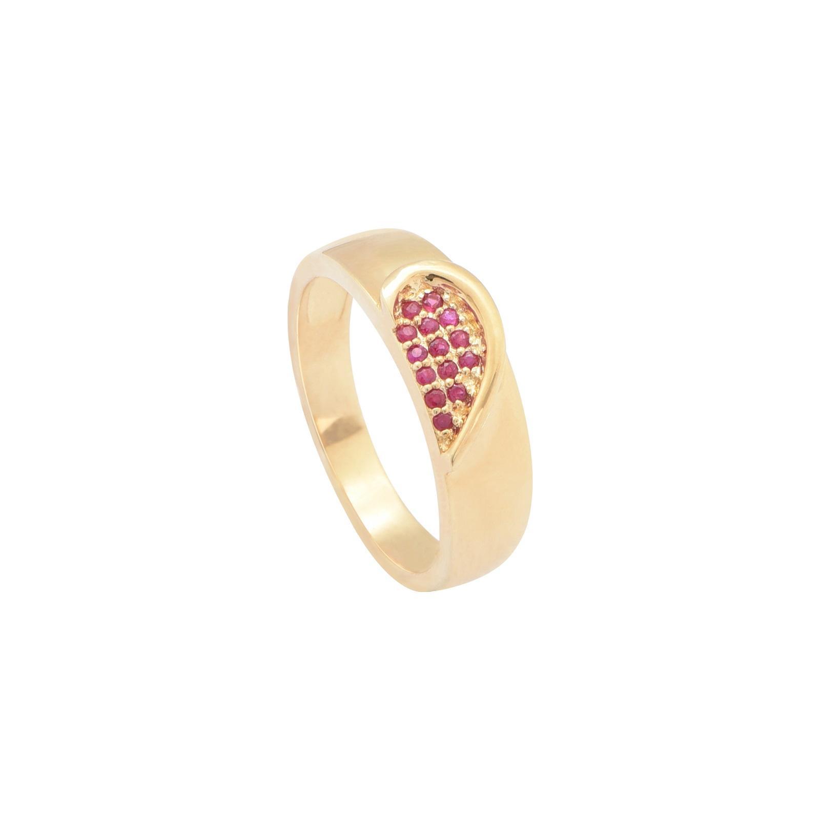 Nhẫn cưới nữ Ruby QR0187.C111