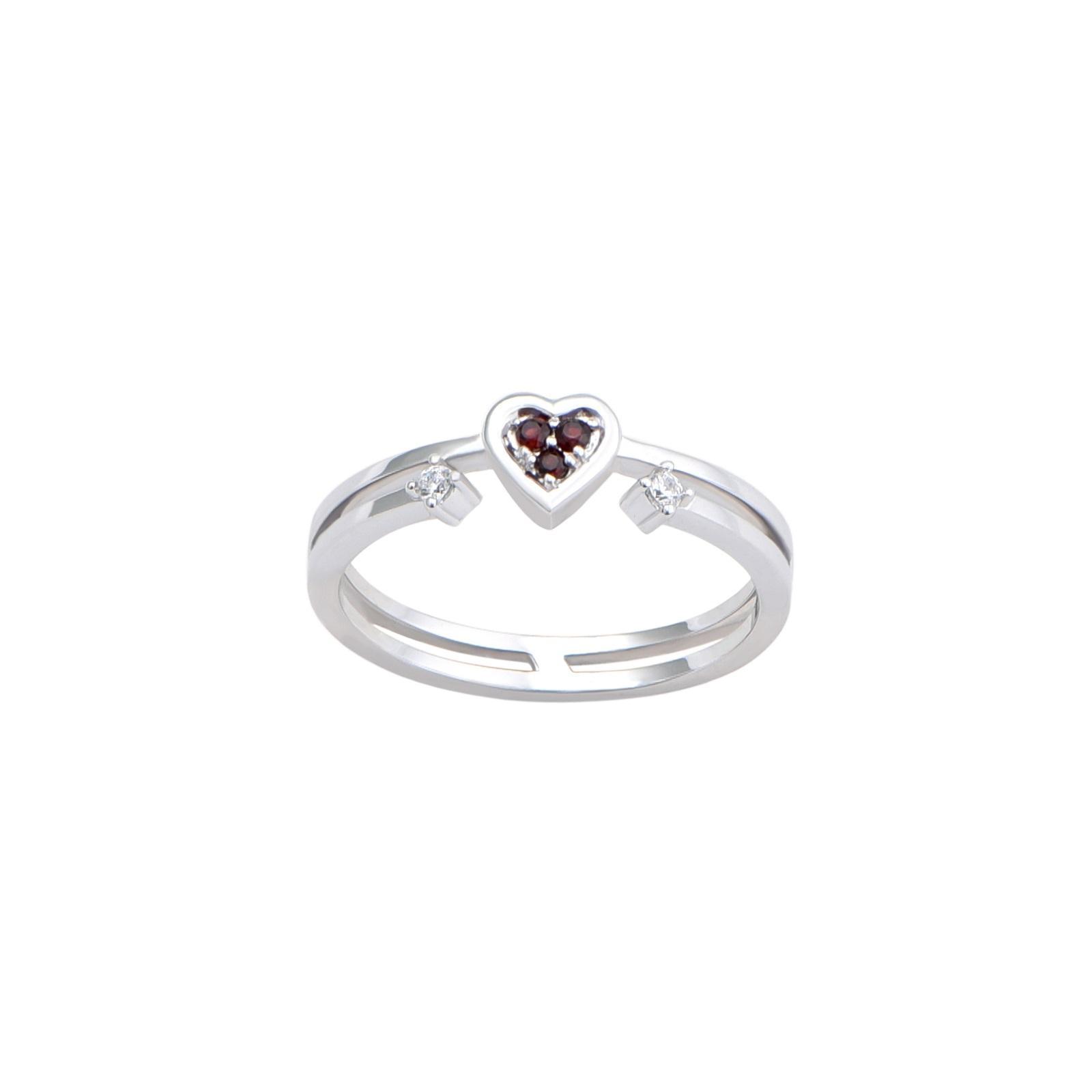Nhẫn đá Garnet 21N.012NMB
