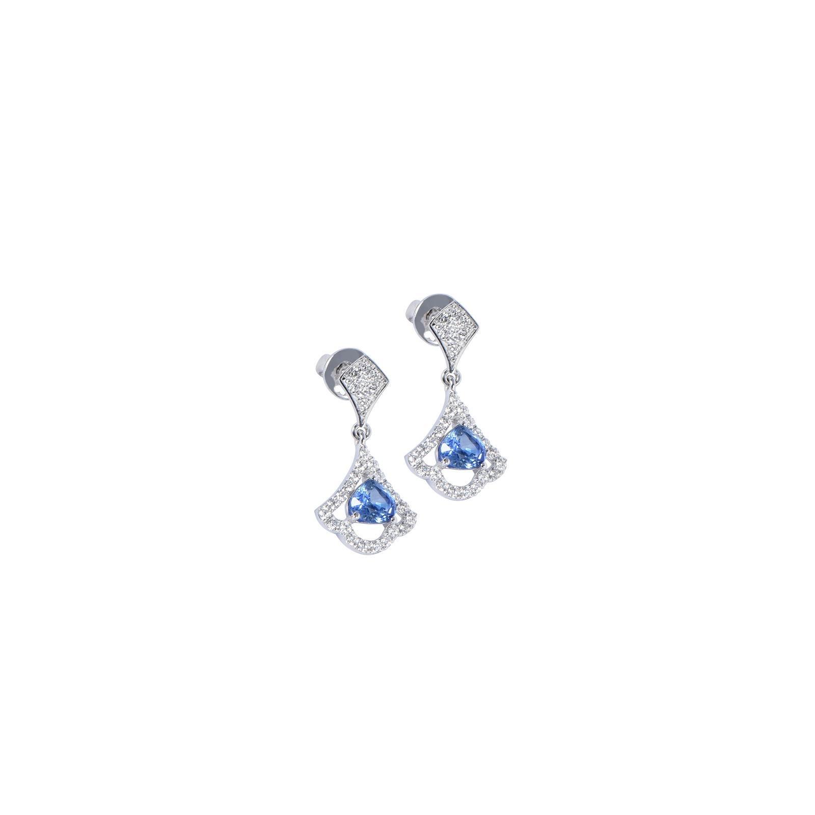 Bông tai đá Sapphire 20B072.6TY