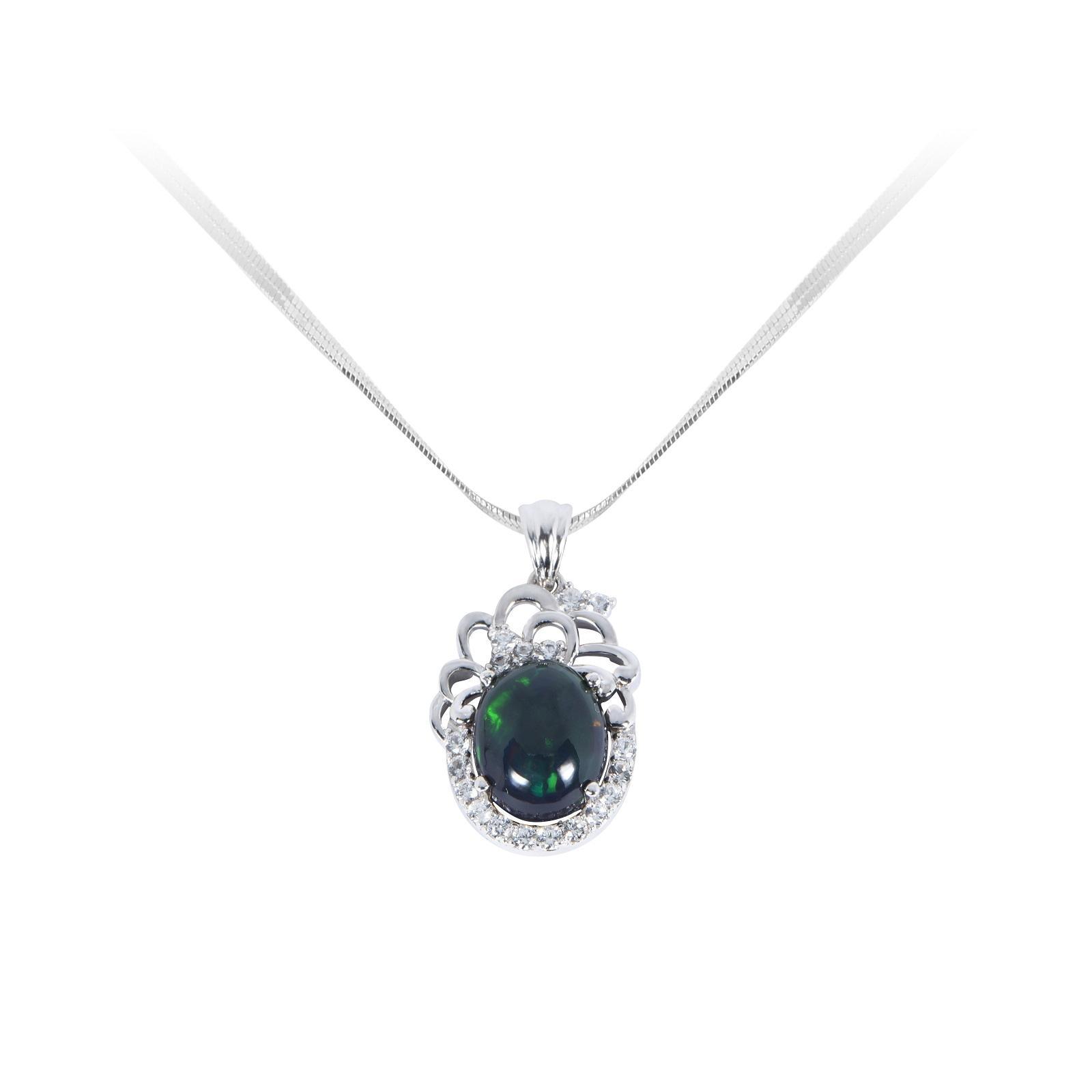 Mặt dây đá Opal 20M052.4NA