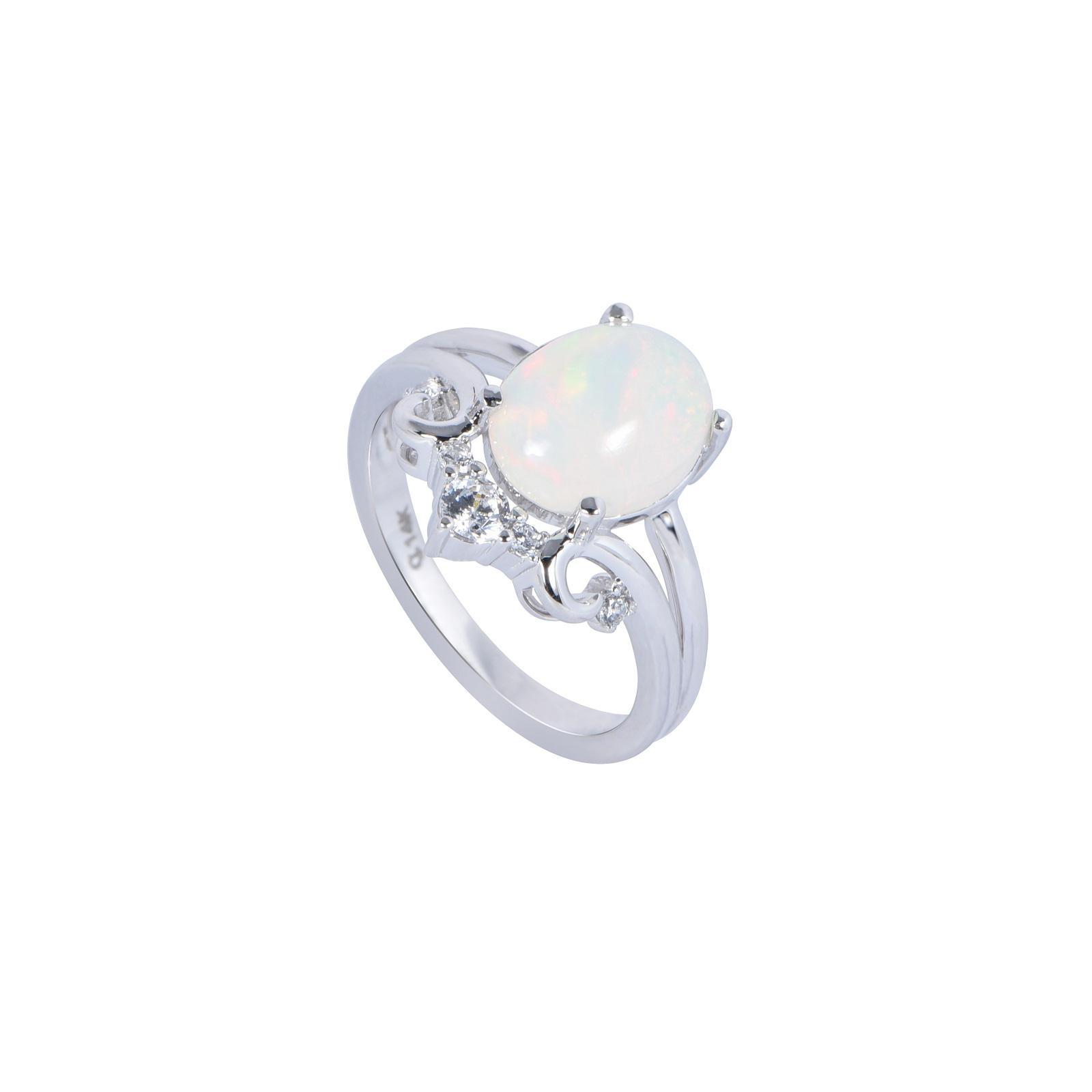 Nhẫn đá Opal 20N093.4NA