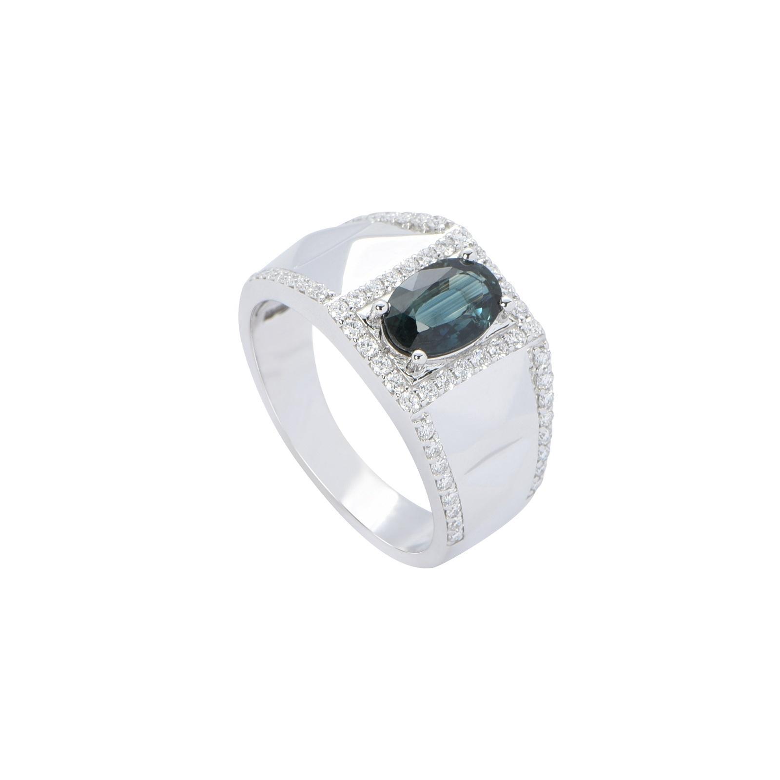 Nhẫn nam đá Sapphire 20NN041.6TY